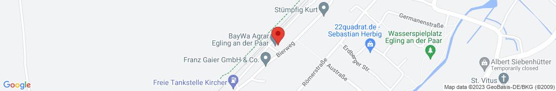 BayWa Agrar Egling Außenlager Anfahrt