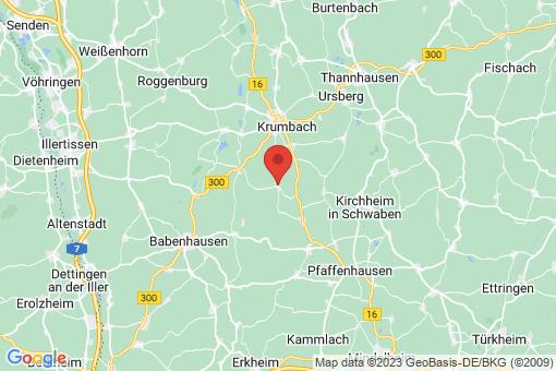 Karte Waltenhausen
