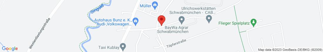 BayWa Agrar Schwabmünchen Anfahrt