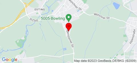 Google Map für Unterkunft in Olching