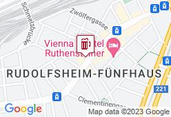 Brauhof Wien Fünfhaus - Karte