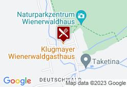 Gasthaus Klugmayer (Naturparkgasthaus) - Karte