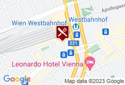 Merkur Restaurant am Wiener Westbahnhof - Karte