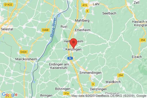 Karte Kenzingen