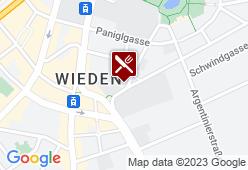Wiener Wiaz'Haus - Karte