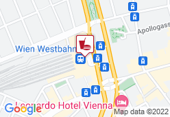 Türkis -  Westbahnhof - Karte