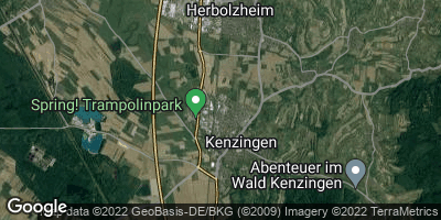 Google Map of Kenzingen