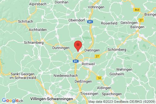 Karte Villingendorf