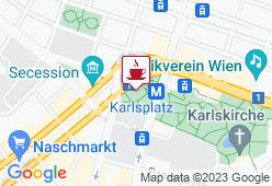 Kunsthallencafe - Karte