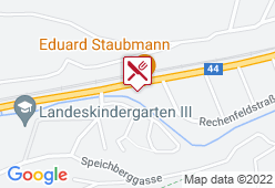 Gasthaus Staubmann - Karte