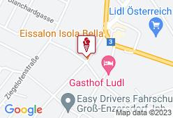 Eissalon Isola Bella - Karte