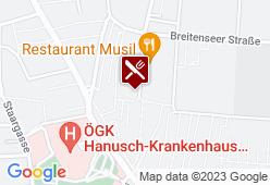 Schutzhaus Am Ameisbach - Karte