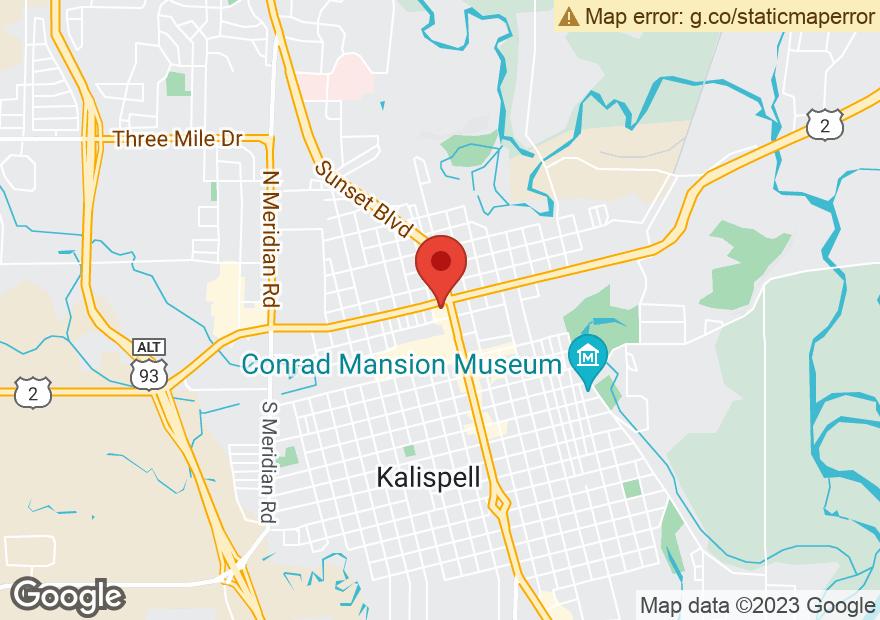 Google Map of 40 W IDAHO ST