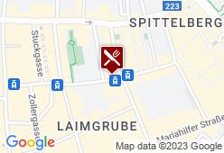 Schokov - Der süße Laden am Spittelberg - Karte