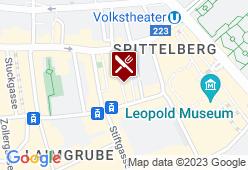 Creperie-Brasserie Spittelberg - Karte