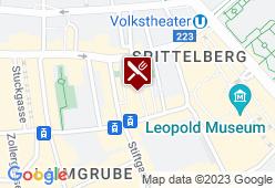 GASTHAUS am SPITTELBERG - Karte
