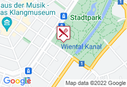 Biergartl im Stadtpark - Karte