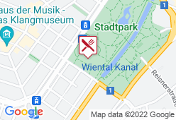 Das JOHANN im Kursalon Wien - Karte