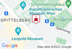 Cafe & Restaurant im Kunsthistorischen Museum Wien - Karte