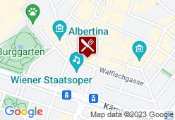 Sacher Restaurant - Karte