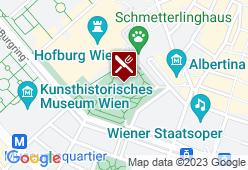 Palmenhaus im Burggarten - Karte