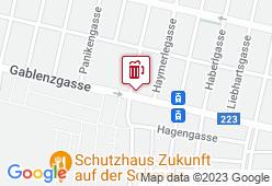 Radis Brauhaus - Karte