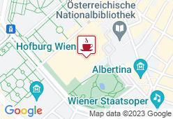 Café Hofburg - Karte