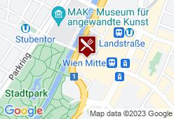 S´PARKS im Hilton Wien - Karte