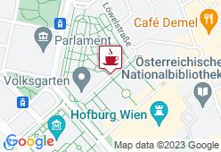 Cafe Meierei Volksgarten - Karte