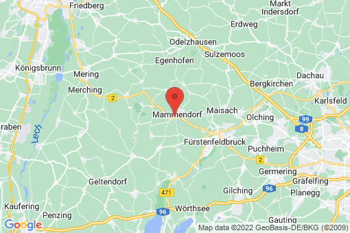 Karte Mammendorf