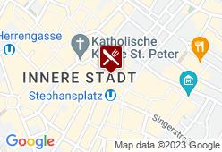 Wienerwald Goldschmiedgasse - Karte