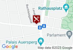 Blauensteiners Gasthof Zur Stadt Paris - Karte