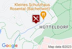 Kleines Schutzhaus Rosental - Karte