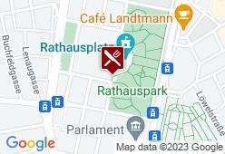 Kolariks Almhütte beim Wiener Eistraum - Karte
