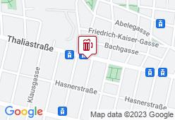 Liebharting bei Linz - Karte