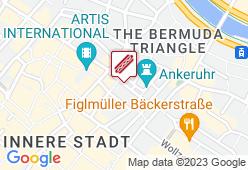 Würstelstand am Hohen Markt - Karte