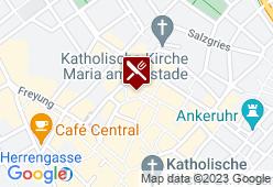 Feinkosterei Schwarz Hirsch - Karte