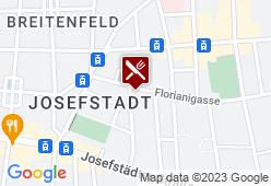 Gasthaus Josefstadt - Karte