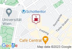 Cafe Diglas im Schottenstift - Karte