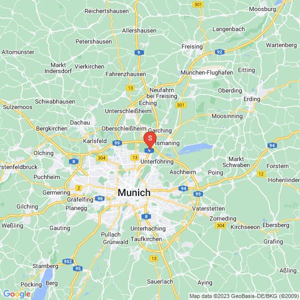 Disc Golf-Anlage München Disc Golf Parcours Fröttmaninger Berg