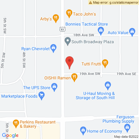 Sebbys Inc on Map (1839 S Broadway, Minot, ND 58701) Map