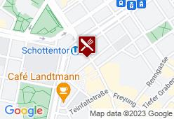 Dungl Zentrum Wien - Karte