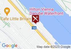Waterfront im Hilton Vienna Danube Hotel - Karte