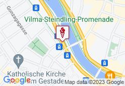 Eissalon am Schwedenplatz - Karte