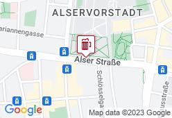Universitätsbräuhaus - Karte