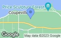 Map of Coupeville, WA