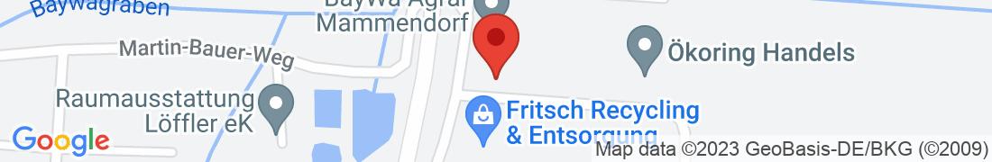 BayWa Agrar Mammendorf Anfahrt