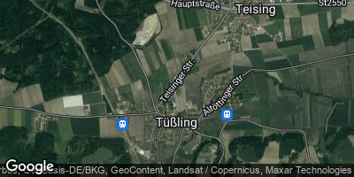 Google Map of Tüßling
