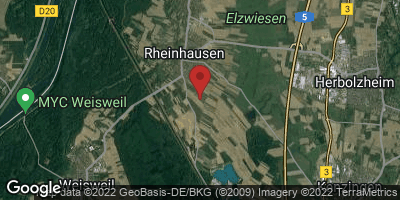 Google Map of Rheinhausen
