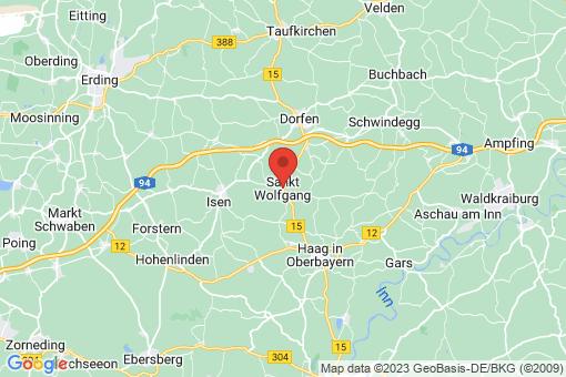 Karte Sankt Wolfgang